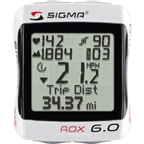 Sigma ROX 6.0 Wireless Cycling Computer with Altimeter and Speed