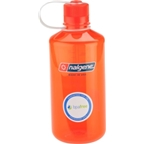 Nalgene Narrow Mouth Bottle: 32oz; Safety Orange