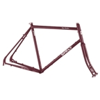 Surly Disc Trucker 700c Touring Frame Set - Maroon