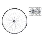 "Wheel Master 26 x 1.75"" Front Steel Chrome Polished 36 Hole Wheel"
