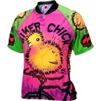 World Jerseys Women's Chick on a Bike Cycling Jersey
