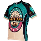 World Jerseys Moab Brewery Derailleur Ale Cycling Jersey: Blue/Black