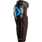 SixSixOne Rage Protective Knee/ Shin Pad: Black