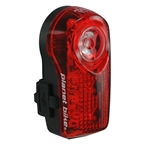 Planet Bike Superflash USB Tail Light: Black