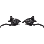 Shimano ST-EF51 3x7-Speed Brake/Shift Lever Set Black
