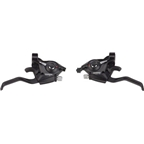 Shimano ST-EF51 3x8-Speed Brake/Shift Lever Set Black