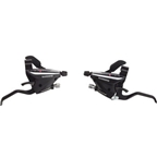 Shimano ST-EF65-2A 3x7-Speed Brake/Shift Lever Set Black