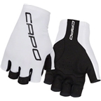 Capo Crono Lycra Short Finger Glove White