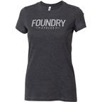 Foundry Cycles Women's Logo T-Shirt: Gray