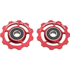 CeramicSpeed Pulley Wheels, Shimano 11 Speed Red