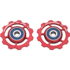 CeramicSpeed Pulley Wheels, SRAM 11 Speed Red