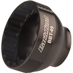 "Park Tool BBT-49 16 Notch 39mm Bottom Bracket Tool 3/8"" Drive, Black"