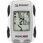 Sigma ROX 10.0 GPS Cycling Computer with ANT+ Speed, Cadence and Heart Rate: White