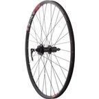 "Quality Wheels Mountain Disc Rear Wheel 26"" SRAM 406 6-bolt / WTB SpeedDisc Black"
