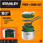 Stanley Prep + Cookset, 10 piece, Stainless Steel