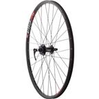 "Quality Wheels Mountain Disc Front Wheel 26"" SRAM 406 6-bolt / WTB SpeedDisc Black"