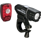 Cygolite Streak 310 and Hotshot SL USB Rechargeable Headlight and Taillight Set
