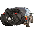 Skinz Hitch Rack Rear Transport Cover with Light Kit: Fits 1-2 Bikes~ Black~ Standard
