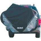 Skinz Hitch Rack Rear Transport Cover: Fits 2-4 Bikes~ Black~ Large