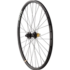 "Quality Wheels Rear Wheel Mountain Disc 27.5"" 142mm x 12mm SRAM XD WTB KOM / Hope Pro2 / DT Competition All Black"