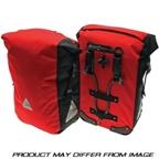Axiom Monsoon Aero DLX-35 Waterproof Panniers Red/Black