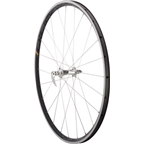 Quality Wheels Road Front Wheel 700c HED Novembre / HED Belgium Clincher Black