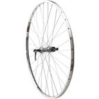 "Quality Wheels Value Series 2 Rear Wheel 27"" Shimano 2400 Silver / CR18 Polished"