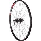 "Quality Wheels Mountain Disc Rear Wheel 26"" Deore 6-bolt / WTB SpeedDisc Black"