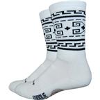"""DeFeet Woolie Boolie 6"""" The Dude Wool Sock: Natural"""