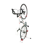 Minoura Tancho DS-2100 Vertical 1-Bike Storage White / Red