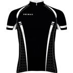 Primal Wear Tungsten Evo Cycling Jersey: Black/White
