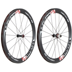 Vision Metron 55 Clincher Wheelset 700c ( 9-11 Speeds) Red / White