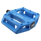 Fyxation Gates Nylon Platform Pedals, Blue