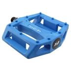 Fyxation Gates Nylon Platform Pedals, Blue