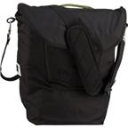 Detours Fremonster Flap Pannier Bag: Black