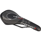 Chromag Moon DT Saddle: Synthetic Cover Black