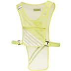 Nathan CycloTier Reflective Safety Vest, One Size Fits Most, Neon Yellow