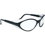 Safety Glasses: Black