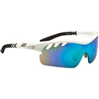 Optic Nerve Thujone 2.0 Performance IC Premium Sunglasses: Shiny White/Black