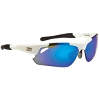 Optic Nerve Neurotoxin 2.0 Performance IC Premium Sunglasses: Shiny White/Black