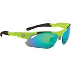 Optic Nerve Neurotoxin 2.0 Performance IC Premium Sunglasses: Shiny Green/Black