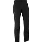 Salomon Women's Momentum Softshell Pant: Black
