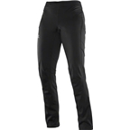 Salomon Women's Equipe Softshell Pant: Black