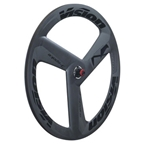 Vision Metron Tri Spoke Carbon Wheelset 700c Tubular Gray