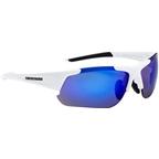 Optic Nerve Flashdrive Polarized Sunglasses: Shiny White