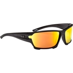 Optic Nerve V12 Polarized Sunglasses: Matte Black
