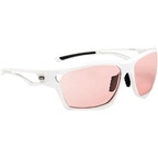 Optic Nerve Variant Photomatic Sunglasses: Shiny White