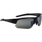 Optic Nerve Flashdrive IC Sunglasses: Shiny Black