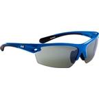 Optic Nerve Voodoo IC Sunglasses: Shiny Blue
