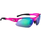 Optic Nerve Neurotoxin 3.0 IC Sunglasses: Crystal Pink